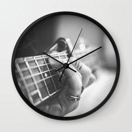 Guitar Musician Wall Clock