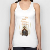 merlin Tank Tops featuring Merlin: Myth and Magic by Past the Lamp Post