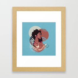 =Lauryn Hill///Killing Me Softly With This Song= Framed Art Print