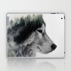 Wolf Stare Laptop & iPad Skin