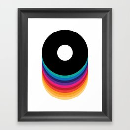 Happy Music Framed Art Print
