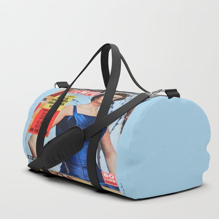 Sofia Loren - Vintage diva Duffle Bag