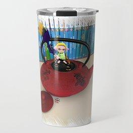 Splatoon inkling in real teapot Travel Mug
