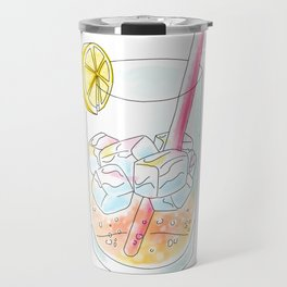 Pink Lemonade Travel Mug