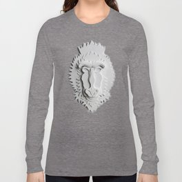 """Mandrill King"" Long Sleeve T-shirt"