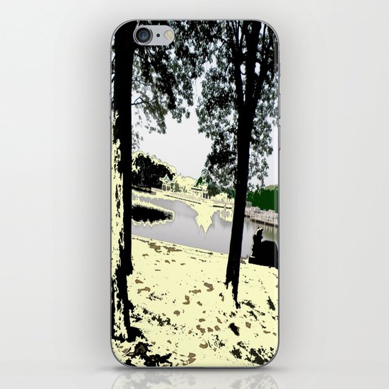 A Pleasant Day iPhone & iPod Skin