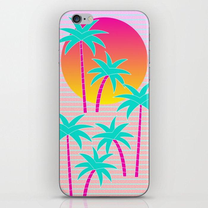 Hello Miami Sunset iPhone Skin