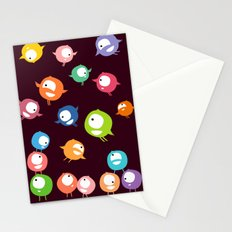 Tiny hyperactive creatures Stationery Cards