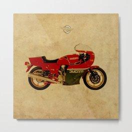 Ducati 900 MHR 1980 Metal Print