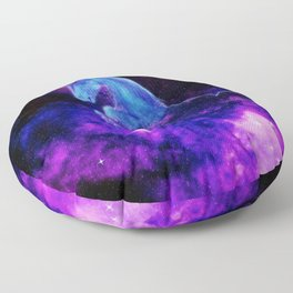Cosmic Unicorn Floor Pillow