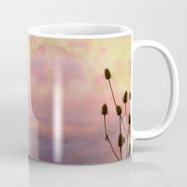 Fiery Teasels Coffee Mug