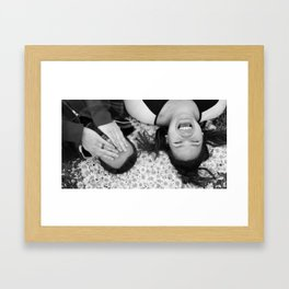 Loving you is easy Framed Art Print