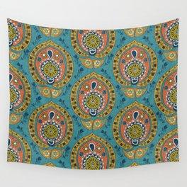 safa blue Wall Tapestry