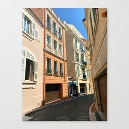 Monaco  Monte Carlo Cityscape Canvas Print