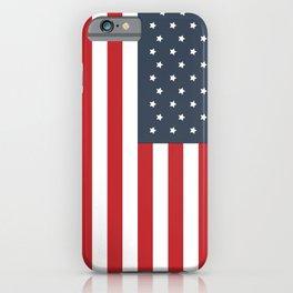 American Flag iPhone Case