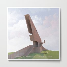 Tower of Dreams and Longings Metal Print
