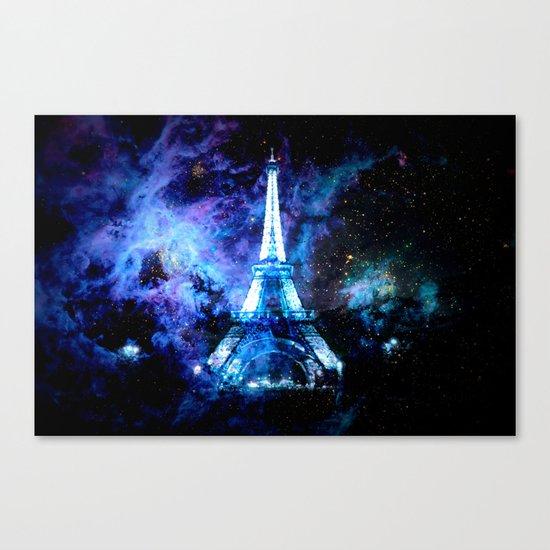 paRis galaxy dreams Canvas Print