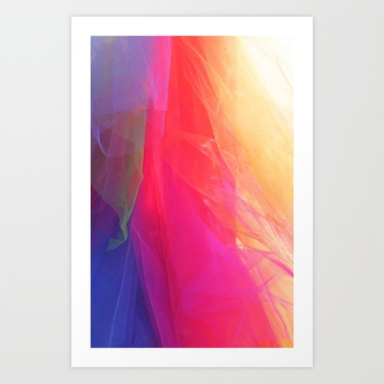 LIGHT COLORS Art Print