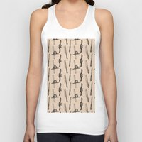 tool Tank Tops featuring Tool Pattern by Jessica Roux
