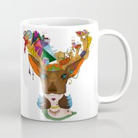 elk Mugs featuring Elk by aileencopyright