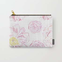 Abstract Flowers #society6 #buyart Carry-All Pouch