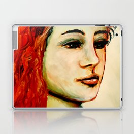 Red hair Laptop & iPad Skin