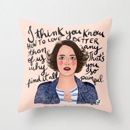 Fleabag Throw Pillow