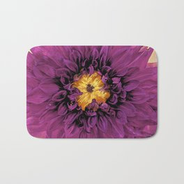 Royal Purple Georgia O'Keefe style Bath Mat