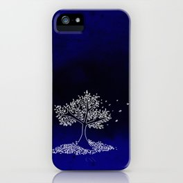 Wind On a Blue Day iPhone Case