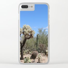 The Beauty Of The Desert Clear iPhone Case