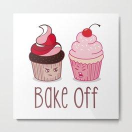 Bake Off Cupcake Wars Metal Print