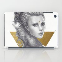 ferret iPad Cases featuring Ferret by Bea González