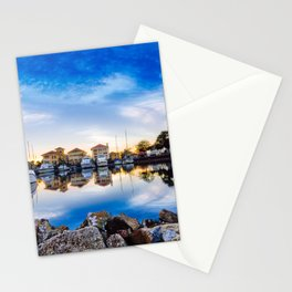 Waterfront Reflections Stationery Cards