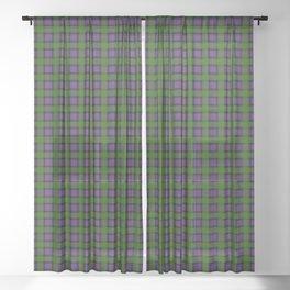 MacDonald Tartan Plaid Sheer Curtain