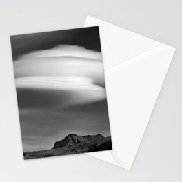Lenticular Over Alcazaba 3315 Meters Stationery Cards