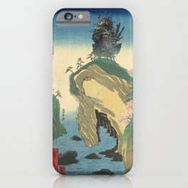 Hiroshige Howl's Moving Castle iPhone Case