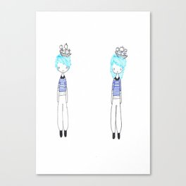 Two Sailors Canvas Print
