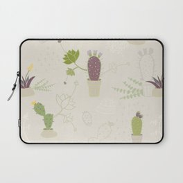 My Potted Cactus Pattern Laptop Sleeve