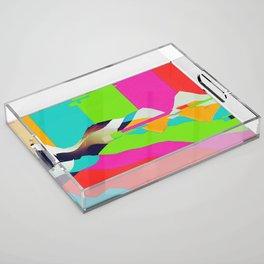 DELETE Acrylic Tray
