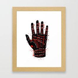 Palmistry Framed Art Print
