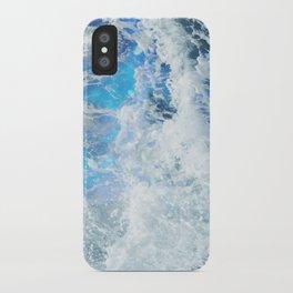 Perfect Sea Waves II iPhone Case