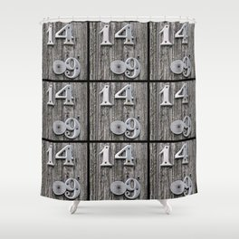 14 Over 9(1) Shower Curtain