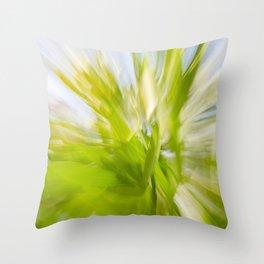 Follow the Leaf (variation) Throw Pillow