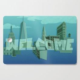 Welcome Cutting Board