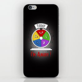 I am Angry iPhone Skin