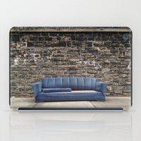 sofa iPad Cases featuring sofa free by danielle marie