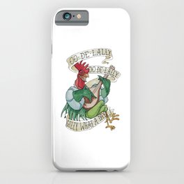 Alan A Dale - Oo de Lally Golly What a Day Roster iPhone Case