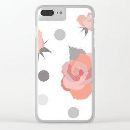 Tickle Me Rose Clear iPhone Case