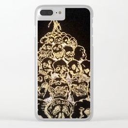 Black Book Series - Rise Clear iPhone Case