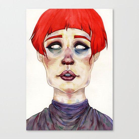 Riza Canvas Print
